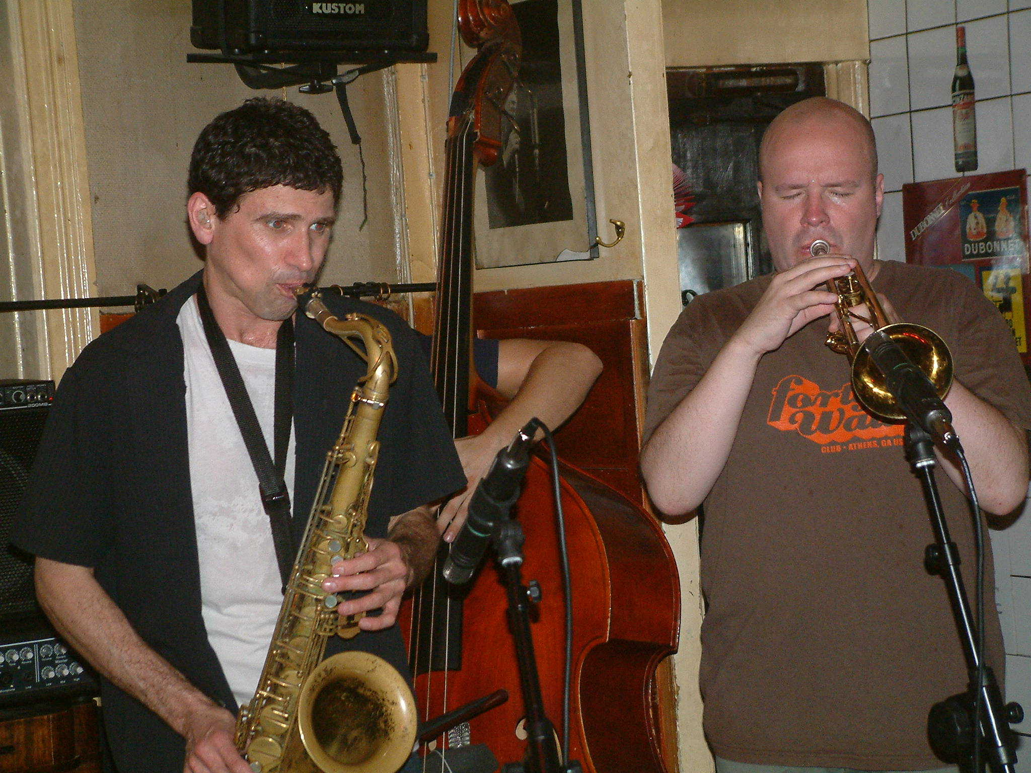 stephen gauci/magnus broo at the glenn miller cafe, stockholm sweden
